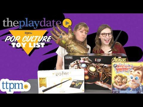 The Playdate  TTPM Pop Culture Toy List 2018 Avengers Harry Potter Jurassic World & More