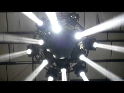 Moving Circle Truss - Parasol Star 600