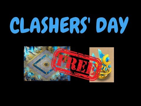 Clashers' Day L Free Background And Decoration L Castle Clash