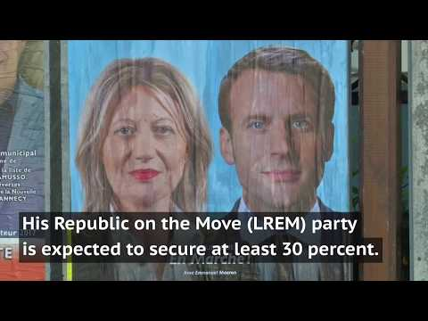 First round of French parliamentary elections kick off