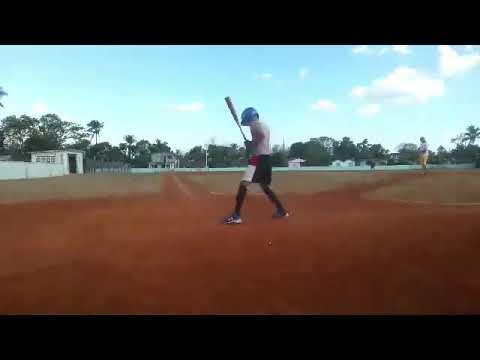 Young baseball players in Baez cuba