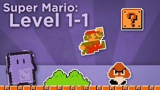Design Club - Super Mario Bros: Level 1-1 - How Super Mario Mastered Level Design(How does Super Mario Bros teach you to play purely through level design? Game Designer Dan