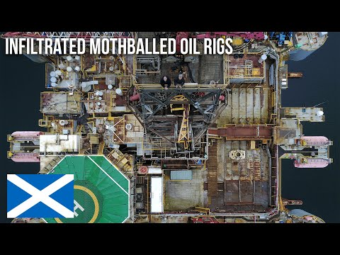 URBEX | A weekend on abandoned oil rigs