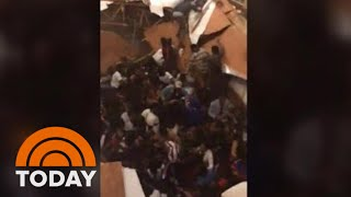 Dozens Injured After Floor Collapses During Clemson Homecoming Party | TODAY
