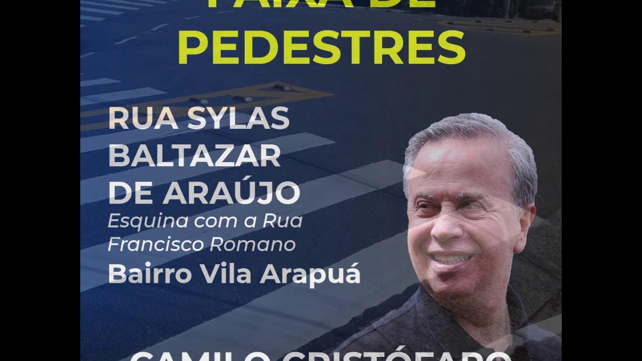 Mais segurança para os pedestres da Vila Arapuá
