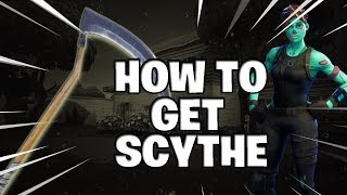 Fortnite | How to get Scythe pickaxe for free!