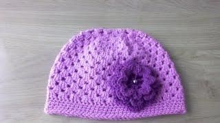 Bere şapka yapimi 1 ve 3 yaş arası/Örgü modelleri