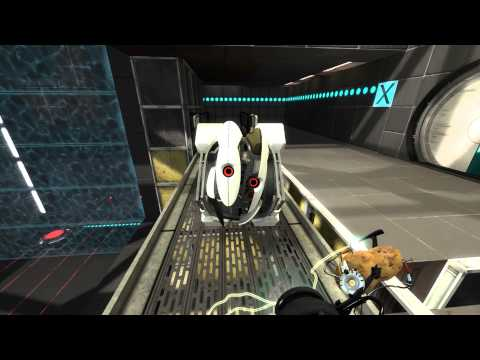 Portal 2 walkthrough HD - chapter 8: The Itch