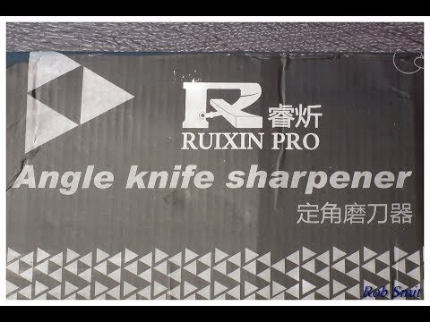 #83 Ruixin Pro II Knife Sharpener unboxing and first use after arrival