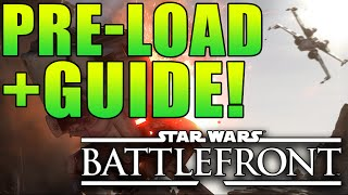 "Star Wars Battlefront - Pre-load for PC! + ""Battlefront Strategy Guide"" & Headset!"