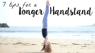7 tipstricks to hold a handstand longer