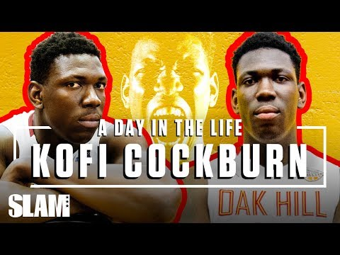 Oak Hill's Kofi Cockburn is BRINGING BACK CENTERS  💪🏽 | SLAM Day in the Life