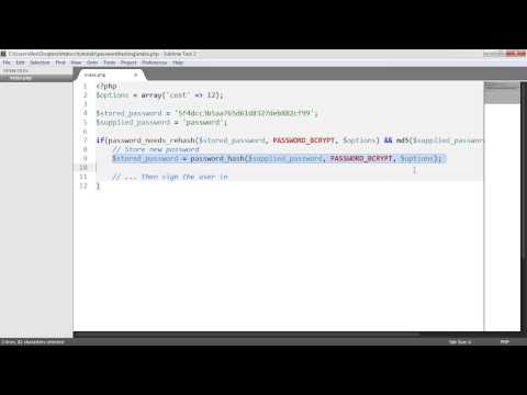 Secure PHP Password Hashing: Securing Existing User Passwords