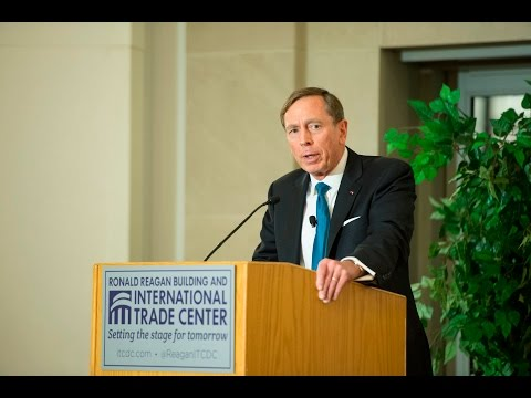A Keynote Conversation with General (Ret.) David Petraeus  - 2016 Arab-U.S. Policymakers Conference