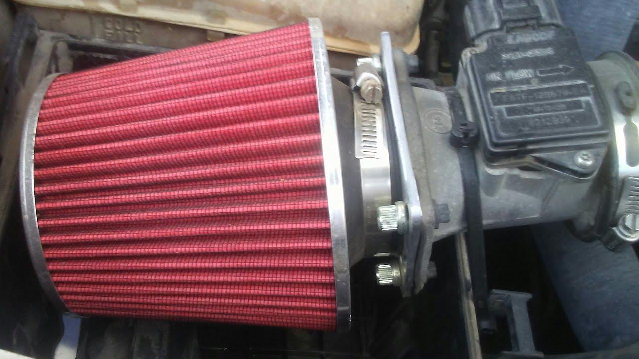 Se le puede poner filtro de alto flujo a cualquier carro
