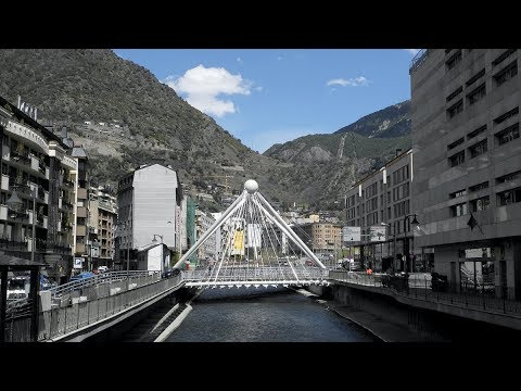 A Tour of Andorra la Vella - Andorra, Europe