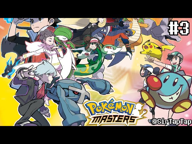 Let's Play Pokemon Masters (3)   New Chapter 14+ Story Mode!