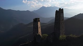 "Ancient Ingush Architecture | Towers of the ""Two Rivals"""