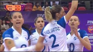 Minas x Eczacibaşi VitrA | 2018 Women's Club World Championship  | Semifinal 2set