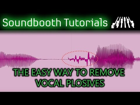 The Easy Way To Remove Vocal Plosives
