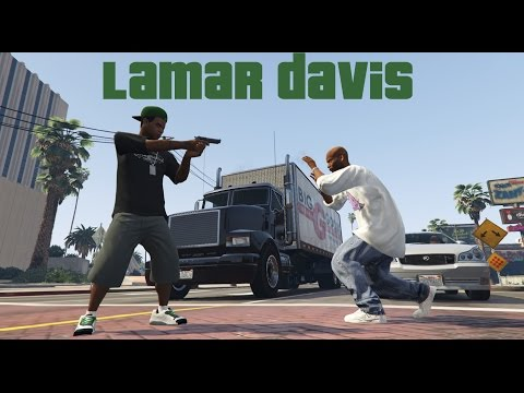 "GTA 5 PC Editor- Short Film- Lamar Davis- ""Life on the set"""
