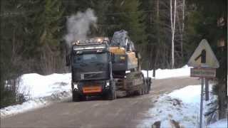 Volvo FH16 700 8x4 - Volvo EC460CL