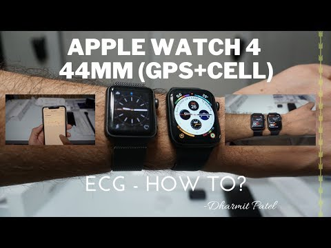 Apple Watch 4 44MM(GPS+CELL) Unboxing, Review And Setup