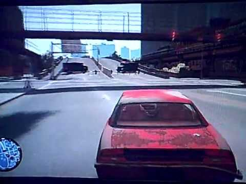 GTA IV BOGT - Tw@t Shooting & Car Chase