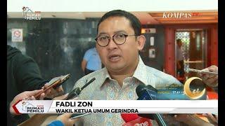 Fadli Zon: Kenapa Manifes Penerbangan Prabowo Tersebar?