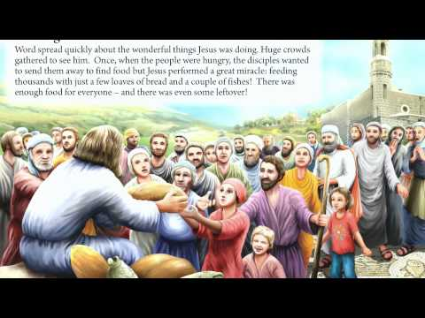 20.  Feeding The Multitudes - Bible Stories Book For Kids