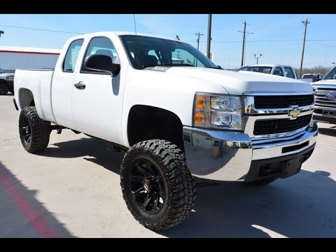 2009 Chevrolet Silverado 2500hd Work Ext Cab Lifted Truck