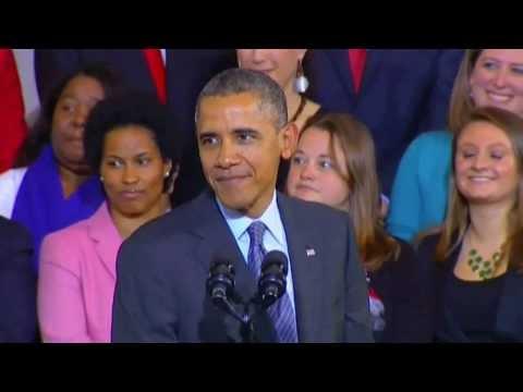 Barack Obama Heckled at Faneuil Hall