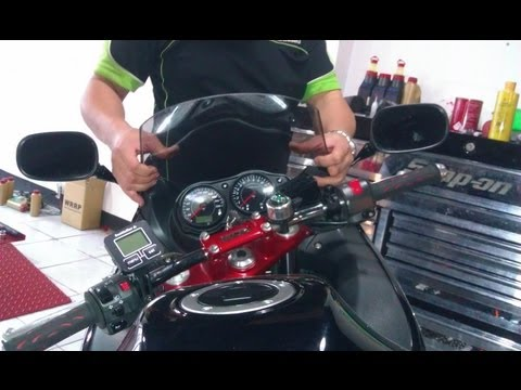 Motorcycle Windscreen Mods