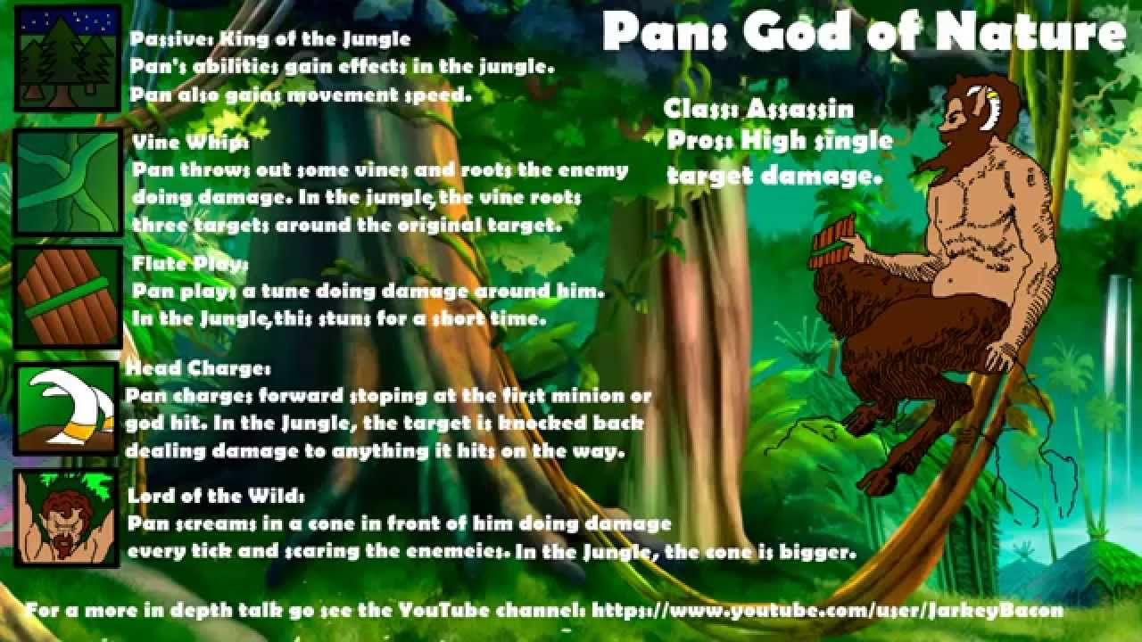 Youtube Smite Of God Ideas - Pan Nature