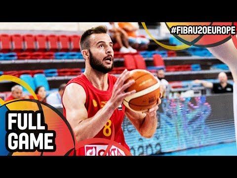 MKD v Albania - Full Game - FIBA U20 European Championship 2017 - DIV B