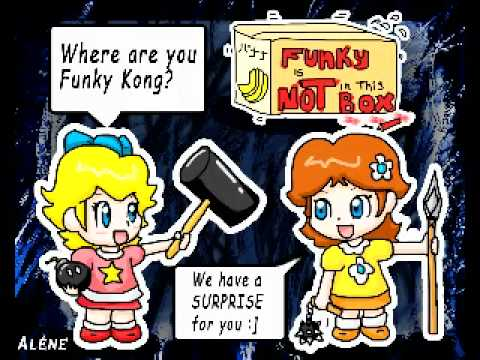 Funky Kong Voices of Mario Kart Wii - YouTube