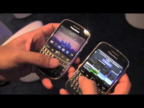 BlackBerry Tag demo on BlackBerry OS 7.1