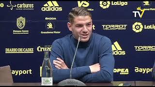 Rueda de prensa de Manuel Vizcaíno y Manu Vallejo sobre traspaso al Valencia CF (12-02-19)