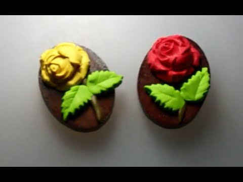 Refrigerator Magnets from polymer clay