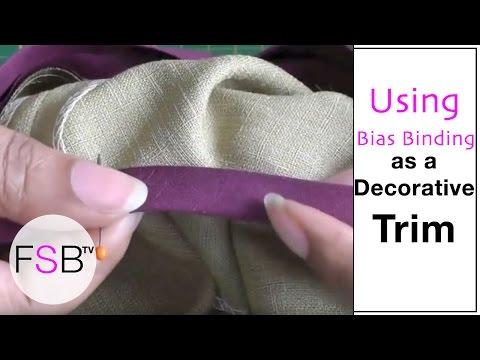 Bias Binding as a Decorative Trim thumbnail