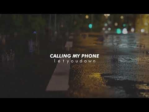 lil tjay, calling my phone (slowed + reverb)