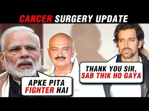Hrithik Roshan Tweets To PM Narendra Modi On Rakesh Roshan Cancer Surgery Mp3
