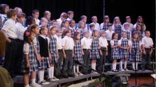 First Grade Performs at Grandparents Day - Why Can
