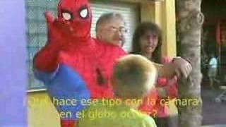 Spiderman big mistake-Error del Hombre Araña-Den store fejl i Spiderman