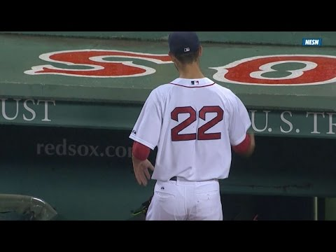 Porcello tosses glove as he exits the game