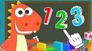 Aprende con Eddie los colores y los números con las piezas de lego 🧩 Eddie aprende a contar