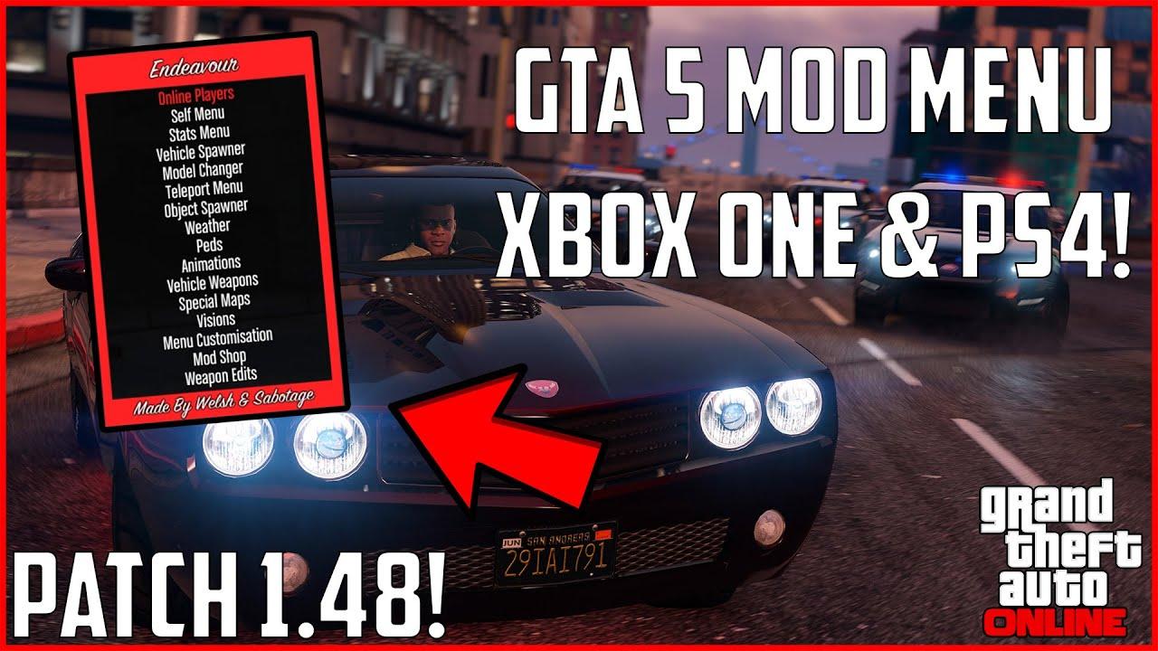 GTA 5 Online: USB MOD MENUS UPDATED! (XBOX ONE, PS4, XBOX, PS3, PC) | NEW  2019!