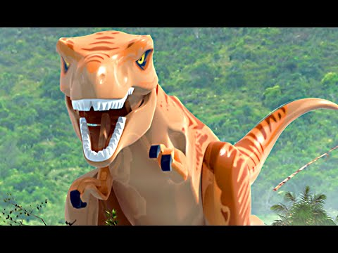 Thumbnail: LEGO Jurassic World & Jurassic Park All Cutscenes Movie
