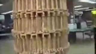 largest jenga tower fall