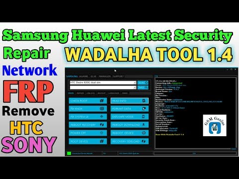 WadalhrTool V 1.4 Samsung Remove Lock Without Lost Data Remove FRP Too Network Repair L 2019